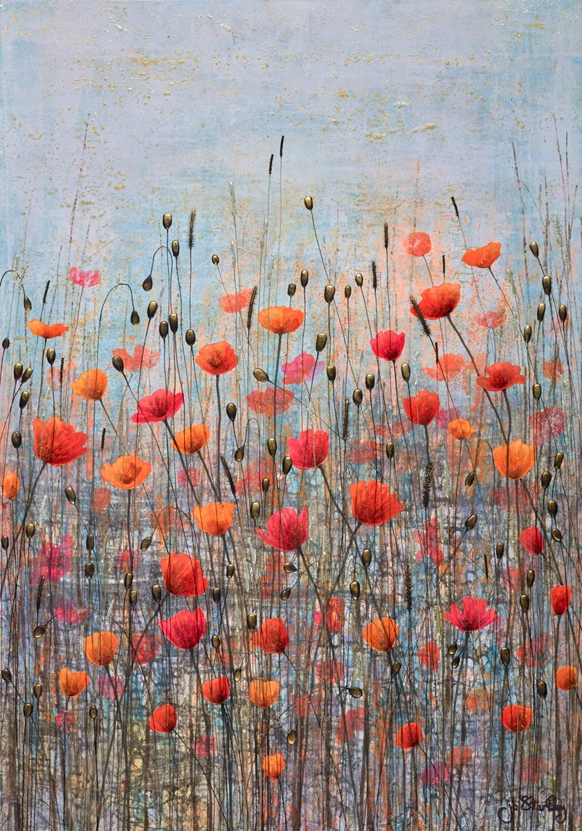 Reach for the Sky by jo starkey -  sized 26x36 inches. Available from Whitewall Galleries